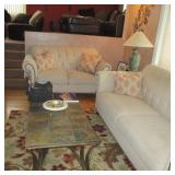 RAYMOUR & FLANIGAN LIVING ROOM SUITE (LIVING ROOM NO ONE SAT IN)