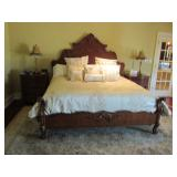 CENTURY KING BEDROOM SUITE (GENTLY USED LIKE NEW)