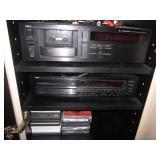 ELECTRONICS YAHAMA KX 1200 U & CDX-9100