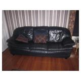 Natuzzi Leather Sofa Suite