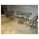 Outdoor/Indoor Patio Pub Tables & Bistro Suites