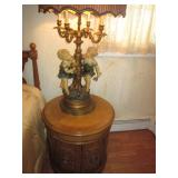 Thomasville Bedroom Suite Pair Figural Lighting