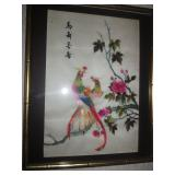 Asian Silk art