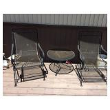 Wrought Iron Patio Suite