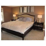 Raymour & Flanigan King Bedroom Suite Stunning/King Down Sleeping Beauty Mattress