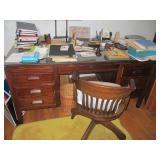 Vintage Chair & Desk Ephemera