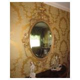 Ornate Mirrors / G. Armani Statue Collection