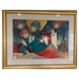 ALVAREL REPOS BY SUNOL ALVAR 88/225 LITHOGRAPH POP ART
