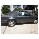 1984 Mustang GT Convertible 5 Speed 5.0 Engine 112,000 Miles