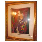 """Linda Le Kinff """"La Vase Gien"""" Artist Proof"""