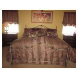 Stunning Bob Mackie King Bedroom Suite King Bed