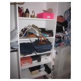 Handbags shelves and more