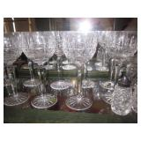 Tons of Waterford Crystal Glass And More