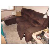 Raymour & Flanigan Recliner Chaise Lounge Sofa