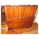 Spectacular Mid-Century Modern United Walnut Bedroom Suite Purchased 1961 C...