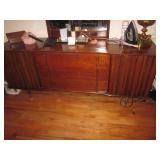 Spectacular Mid-Century Modern United Walnut Bedroom Suite Purchased 1961 Complete  View Less
