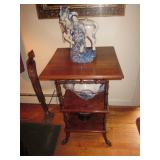 Asian Artifacts Accent Table