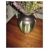 Vintage Glazed Drip Vase