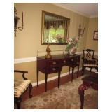 Century Claridge Stunning Dining Room Table and Seating Kindel Furniture Wi...