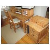 Huffman Koos Writing Desk with Cabinet