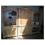 Huffman Koos Wall Unit 3 Pieces
