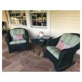 LLOYD FLANDERS STUNNING PATIO FURNISHINGS