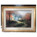 "THOMAS KINKADE ""THE BLESSINGS OF AUTUMN"""