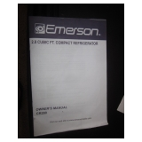 Emerson Compact Refrigerator 2.8 Cubic Ft. & Heater