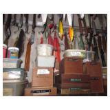 Mostly Salt Water Fishing Tons of Penn Reels Casting Reels & Baitcasting Reels Tons of Fishing Lures