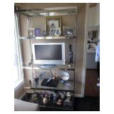 Vintage Chrome Etagere