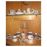 Depression Glass Tea Cup Collection, Lenox & More