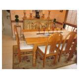 Oak Kitchen/Dining Suite