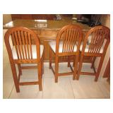 Oak Counter Seating