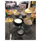 Complete Drum Kit with TAMA snare and Zildjan cymbals.