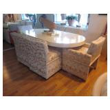 Custom Goat Skin Dining Room Table Custom Dining Room Seating
