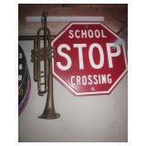 Vintage Trumpet Street Signs ~