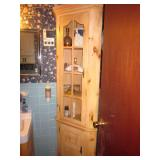 Pine Corner Cabinet Storage Great For Any Room