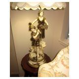 Figural Sculpture Lamps