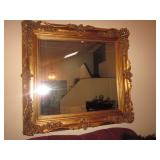 Large Gold Gilt Mirrors