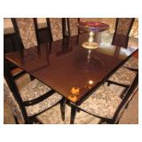 Quintessential Home Furnishings Giorgio Collection Dining Room Italy Brazilian Snake wood Dining Roo