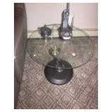 Round Glass Orbit Tables