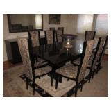 Quintessential Home Furnishings Giorgio Collection Dining Room Italy Brazilian Snakewood Dining Room