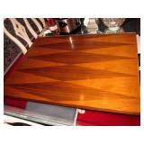 1958 Ebony Harlequin Dining Room Table