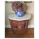 Italian Inlaid Marble Top Accent Furniture