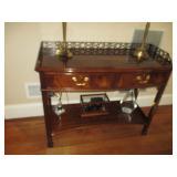 Hickory Chair Sofa Table