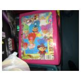 Vintage Troll Dolls and Case