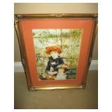 Auguste Renoir Mother & Child