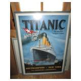 Titanic Poster Marine Art