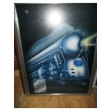 Locomotive New York Central System Poster 20th Century Limited