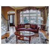 Stunning Custom Living Room Suite